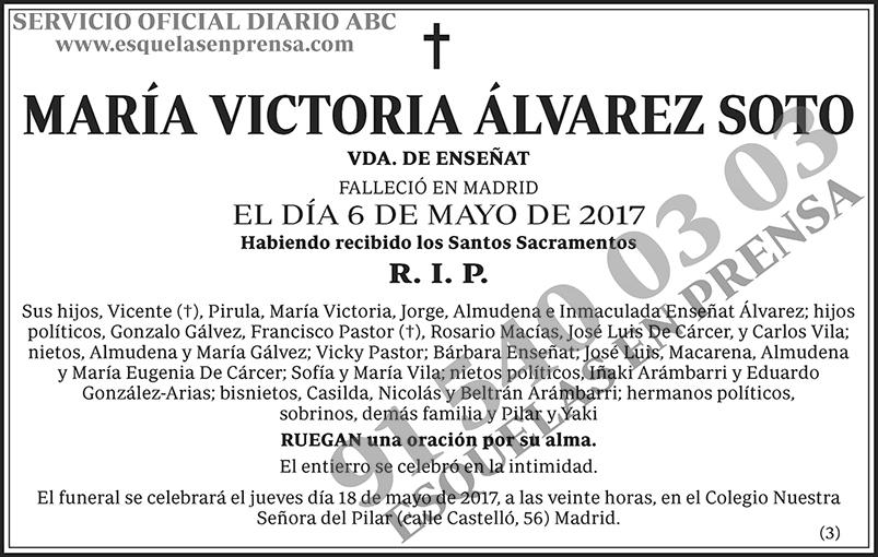 María Victoria Álvarez Soto
